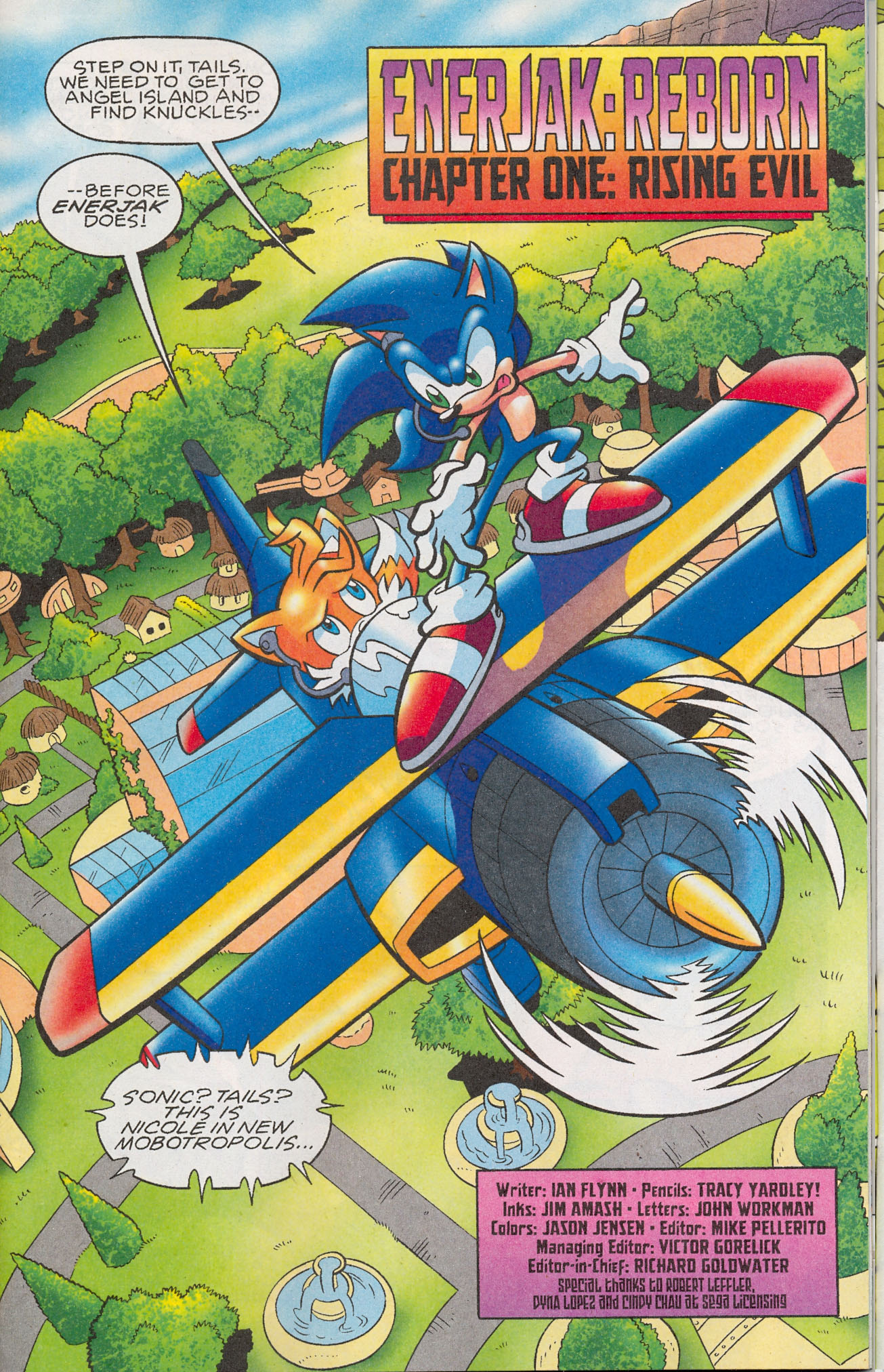 Read online Sonic The Hedgehog comic -  Issue #181 - 2
