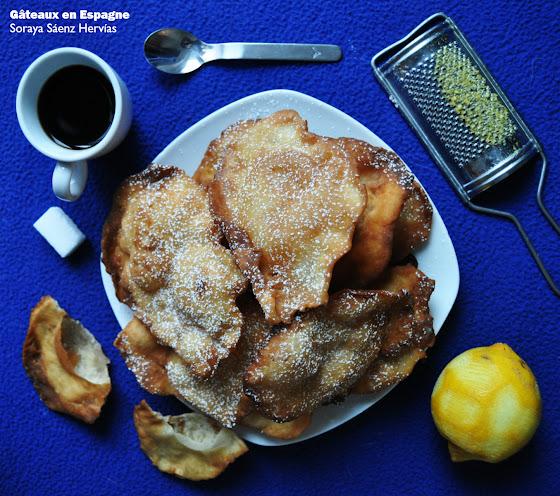 recette bugnes beignets oreillettes carnaval espagne