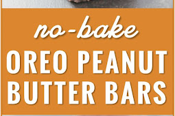 No-bake Oreo Peanut Butter Bars with Chocolate Chips Recipe