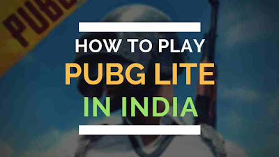 How to play pubg lite in india