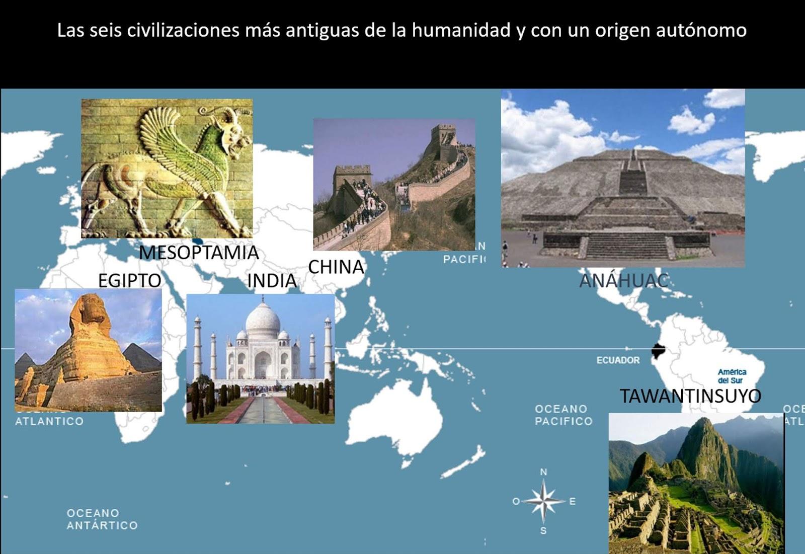 Las civilizaciones más antiguas del mundo. Vídeo Toltecápsulas 17