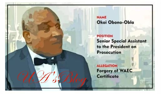 DSP Hits FG Back Over Claims Of False Asset Filled Against Him by WAEC Forger, Obono Obla