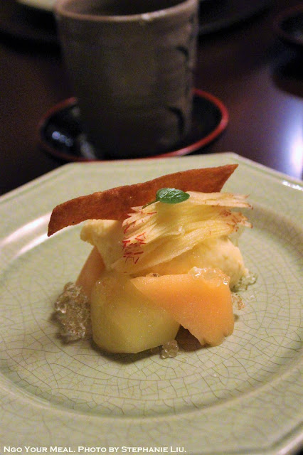 Apple Prepared Four Ways at Ginza Kojyu in Tokyo, Japan