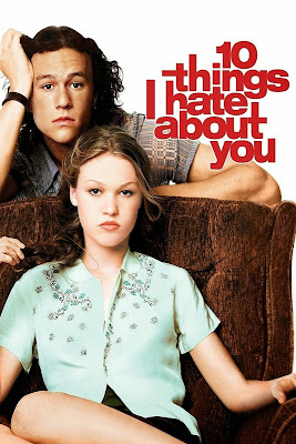 Poster Of 10 Things I Hate About You (1999) In Hindi English Dual Audio 300MB Compressed Small Size Pc Movie Free Download Only At worldfree4u.com