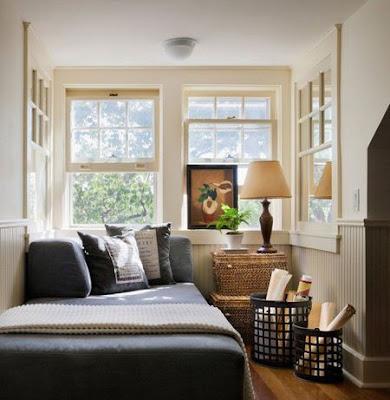 Desain Kamar Tidur Sempit Ukuran 3×3 Dengan Window