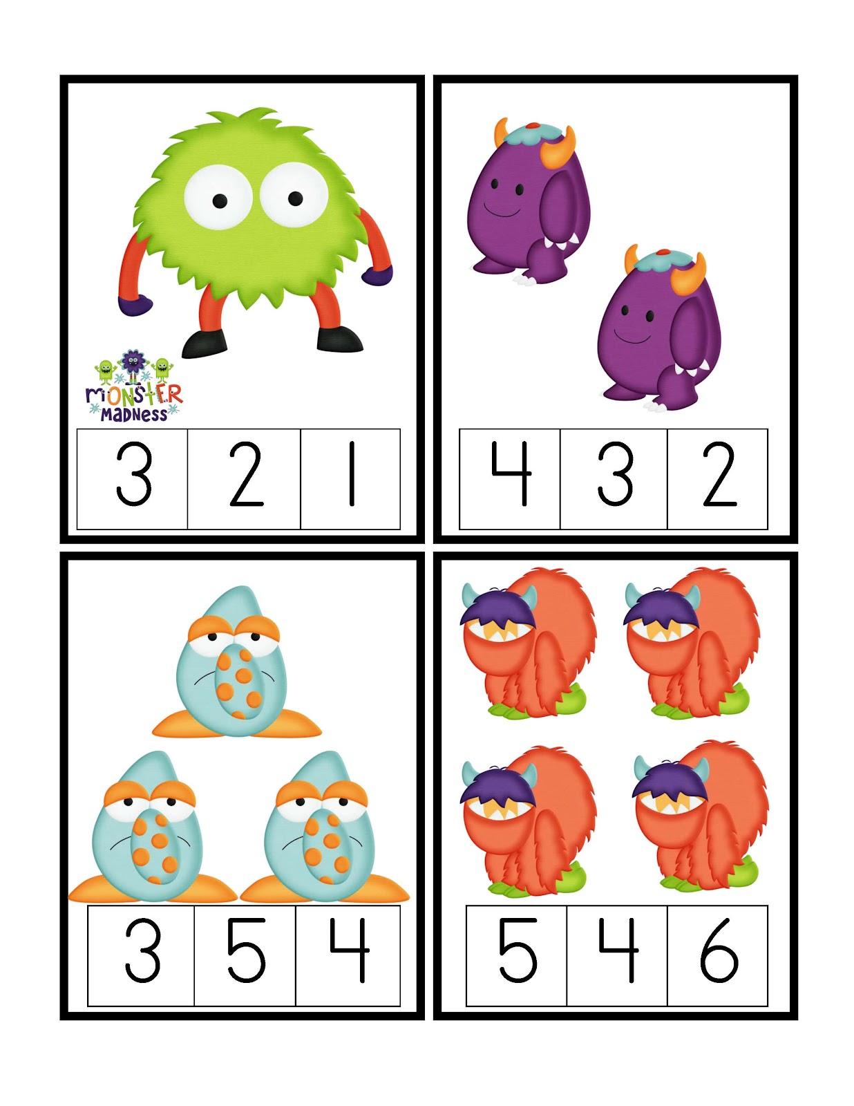 Monsters Ducks Letters And Bugs Prek Amp Kindergarten Community
