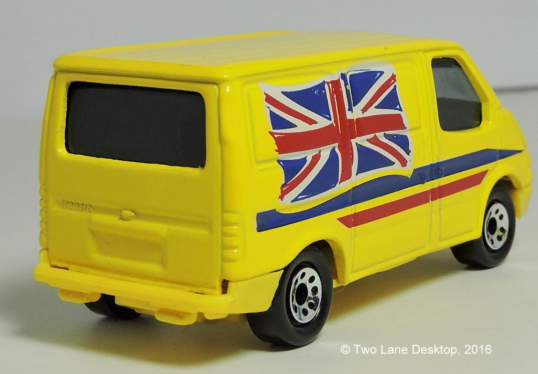 Matchbox 2015 Ford Transit Tv New Van 1990 1995 And