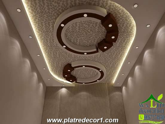 Decoration platre moderne 2016 for Dicor platre 2016