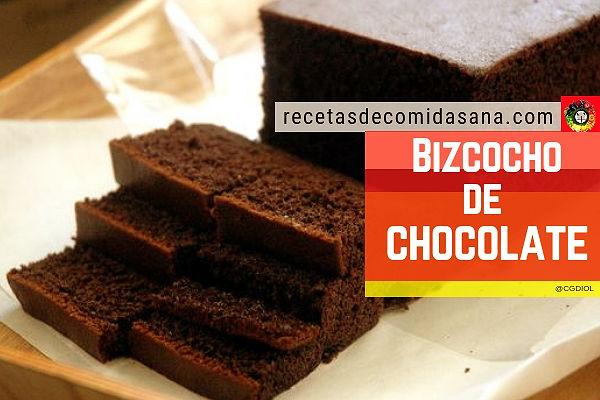 La fabulosa receta de bizcocho de chocolate casero de mi madre, aquí te la dejo
