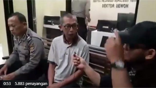 Penghina Ustadz Abdul Somad Berhasil Ditemukan dan Diserahkan ke Kantor Polisi
