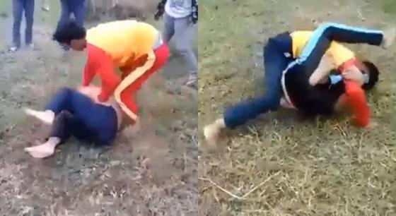 Video Duel Gladiator Siswa SMP di Sukabumi