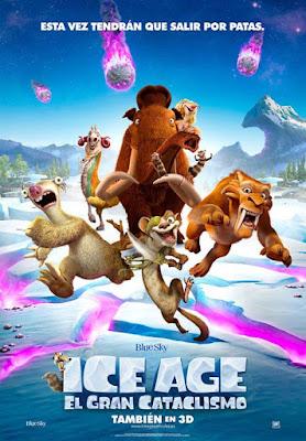 Ice Age 5: El gran cataclismo Cartel