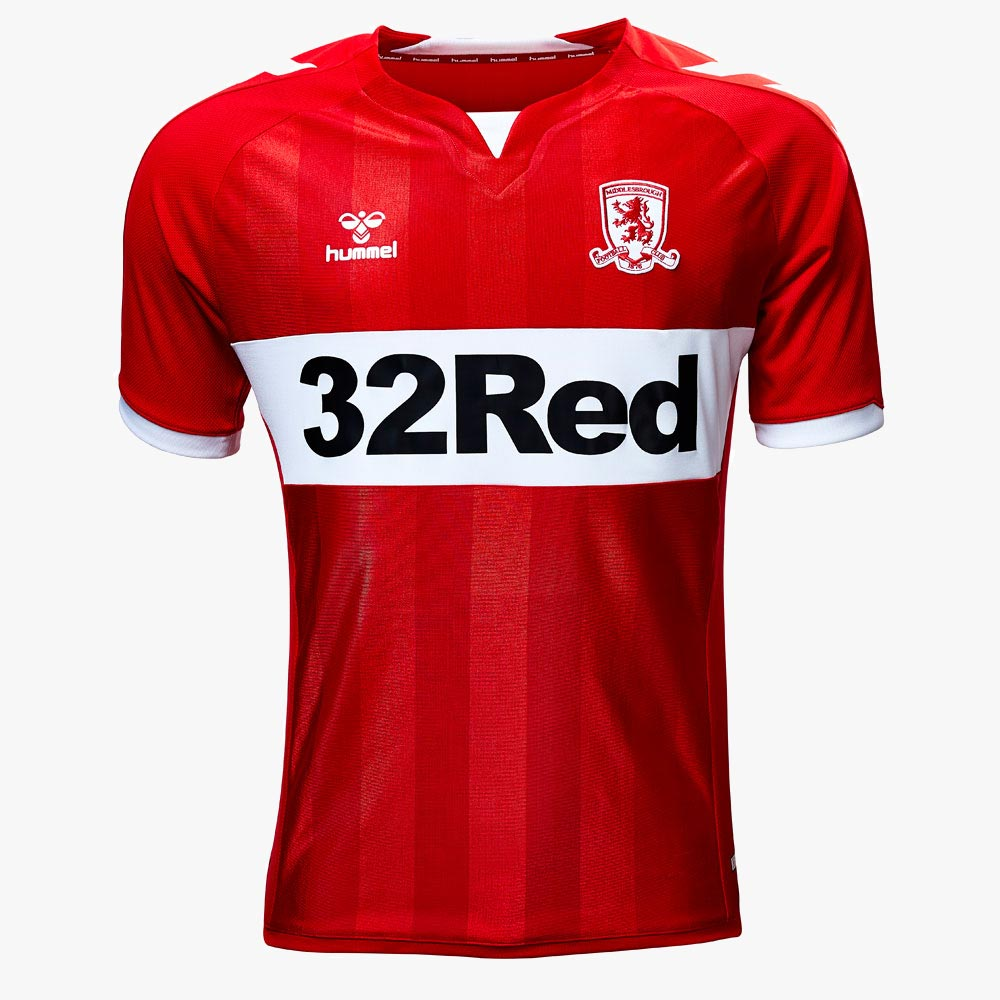 1b3ca473811 No More Adidas - Hummel Middlesbrough 18-19 Home & Away Kits ...