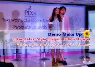 tutorial make up natural, elegan, cute, japan style
