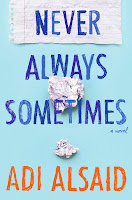 Never Always Sometimes by Adi Alsaid book cover and review