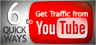 6 Quick Ways To Get Traffice From Youtube