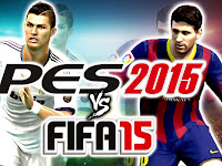 Soccer Fight : FIFA 15 VS PES 2015