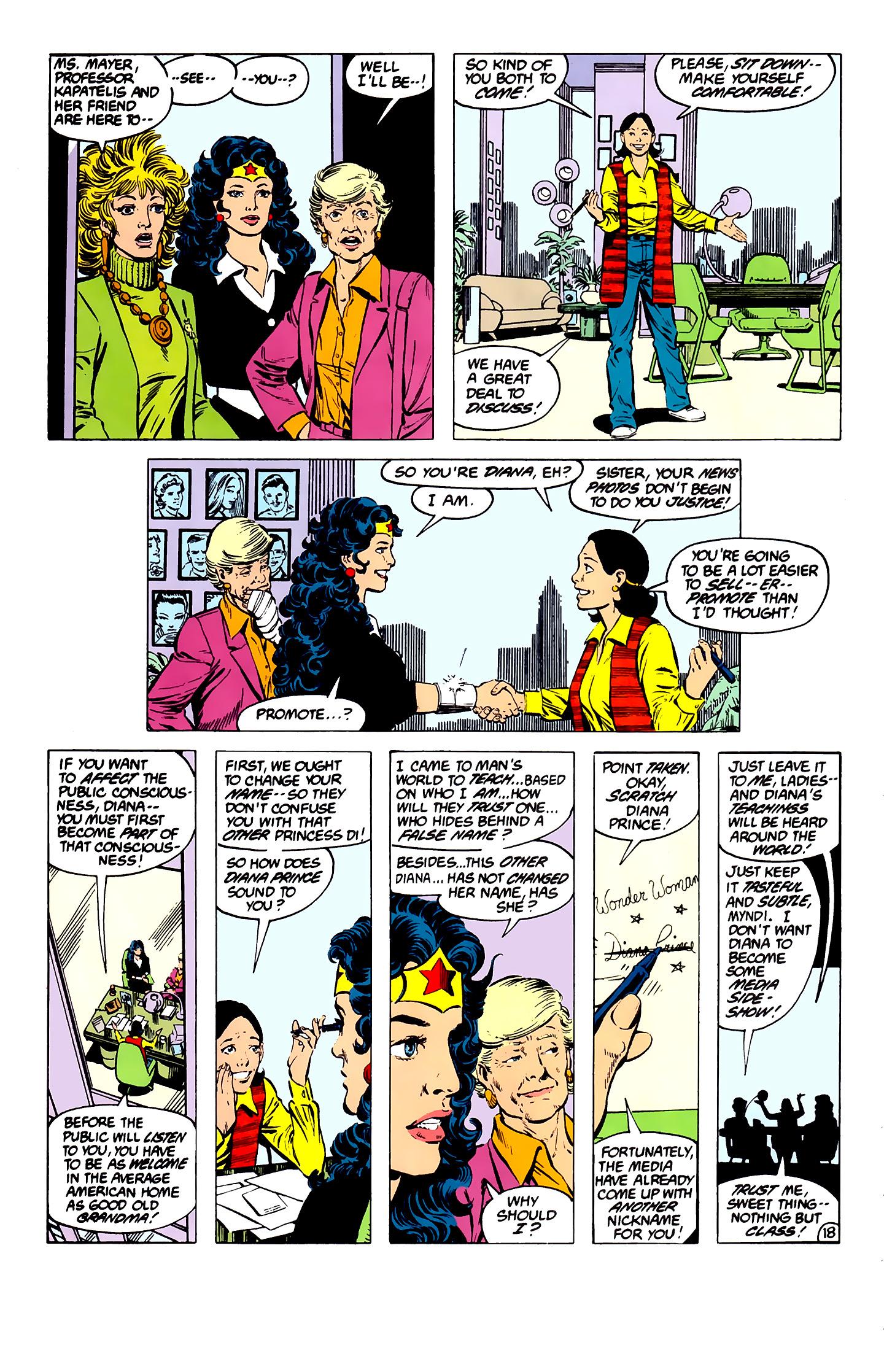 Read online Wonder Woman (1987) comic -  Issue #7 - 18