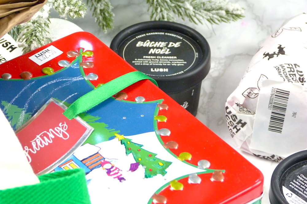 an image of Lush Christmas Haul 2017 and gift sets