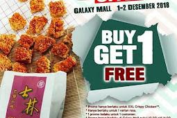Promo Makanan di Surabaya Buy 1 Get 1 Cripsy Chiken