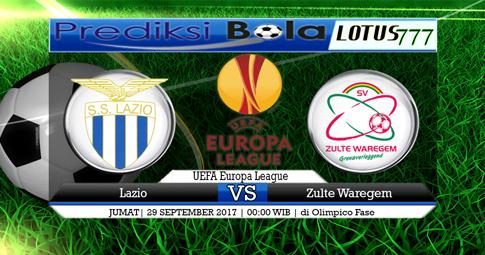 PREDIKSI SKOR Lazio vs Zulte Waregem 29 SEPTEMBER