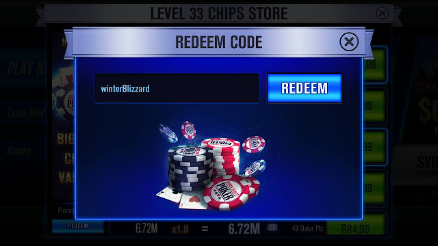 WSOP Free Chips on Mobile