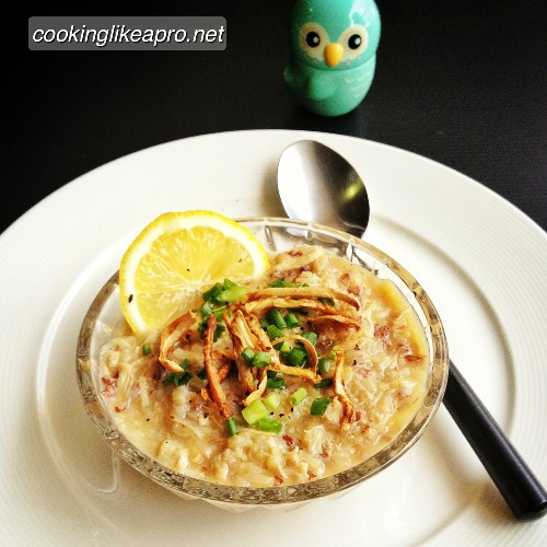 Cooking Arroz Caldo (Lugaw Recipe)