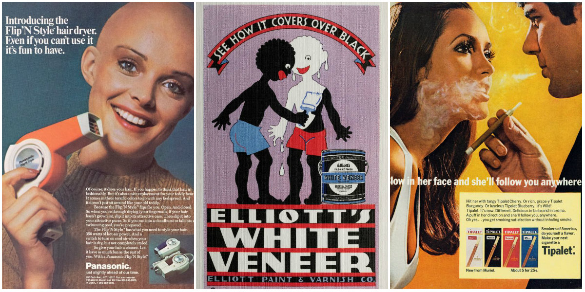 16 Racist, Sexist And Dishonest Vintage Advertisements