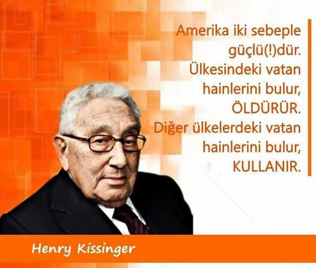 henry kissinger, amerika, söz