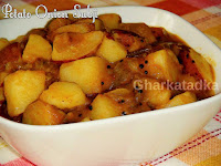 Potato Onion Subji