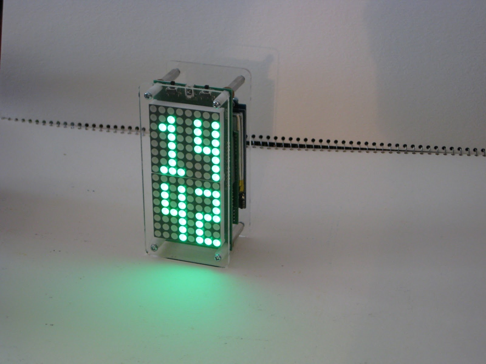 Small Led Clocks Wise Time With Arduino