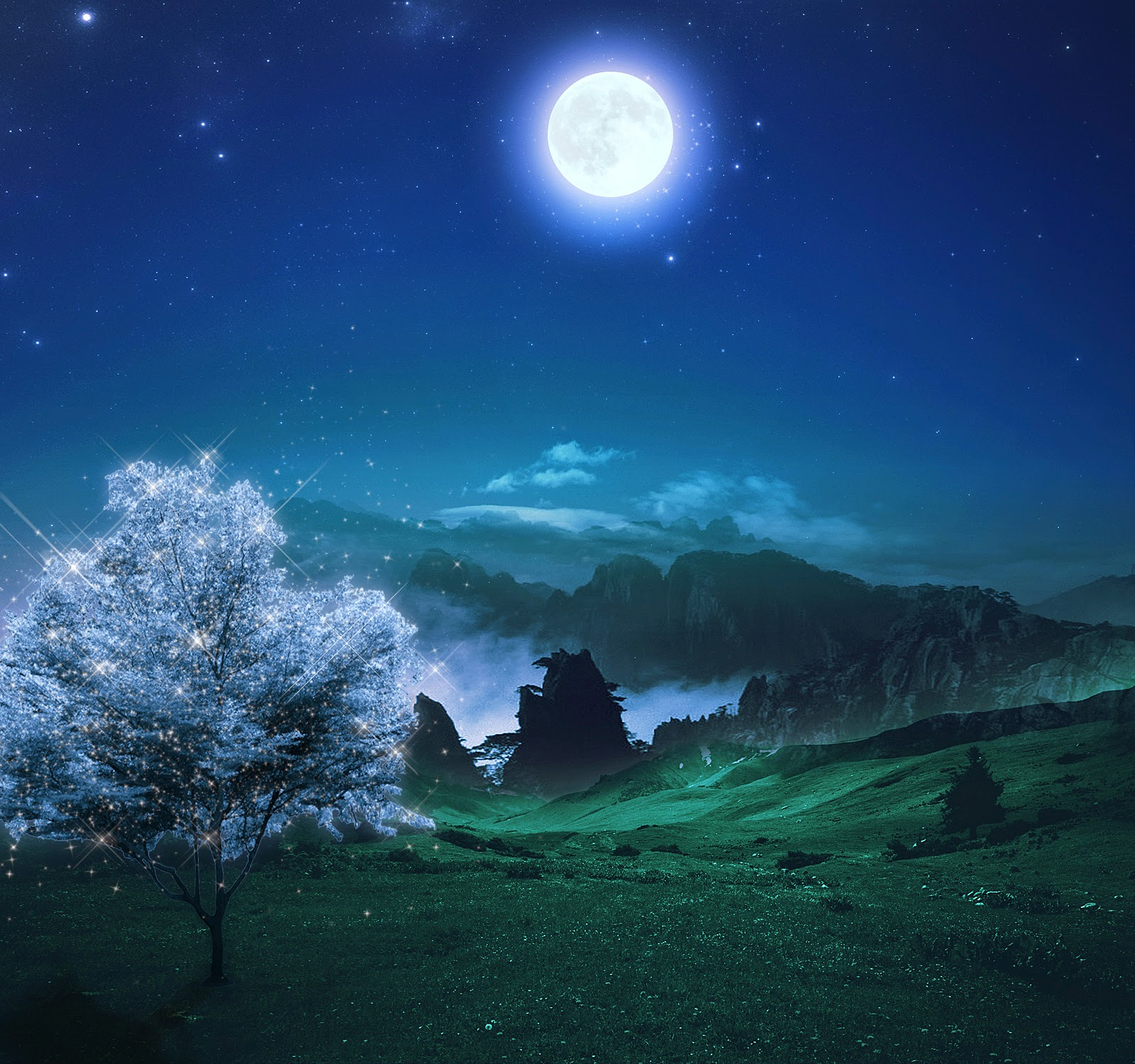 Wallpaper Hd For Nature: Night Nature HD Wallpapers For PC