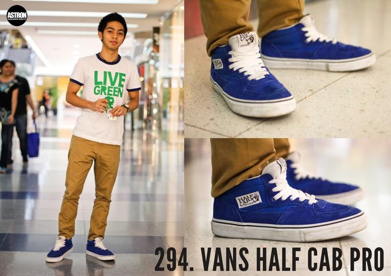 7c3290cc5c4b6f Astron Sneaker Hunts  294. Vans Half Cab Pro