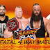 WWE Summerslam 2017 Winner Name List, Summerslam 2017 Results