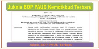 Juknis BOP PAUD 2019 Kemdikbud Terbaru