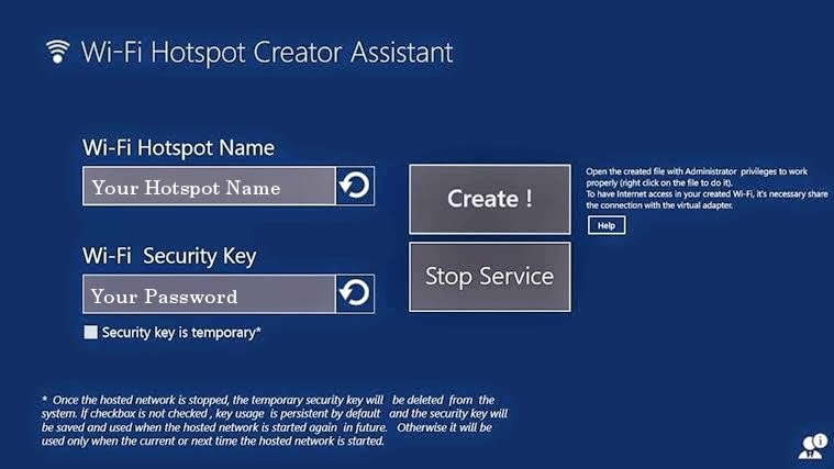 How to Use Windows 8.1 as WiFi Hotspot - Turn Your Laptop as Wifi Router