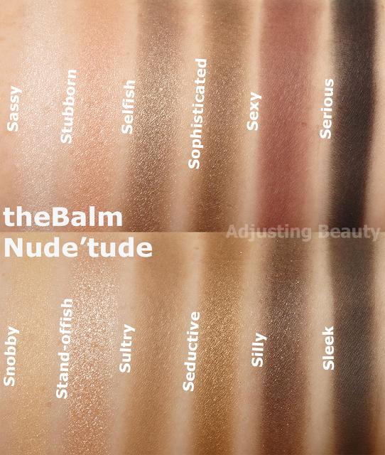 the balm meet matte trisomy palette taste