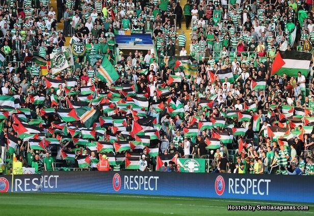 Celtic-Palestine-flags