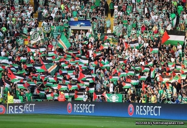 Celtic-Palestine-flags