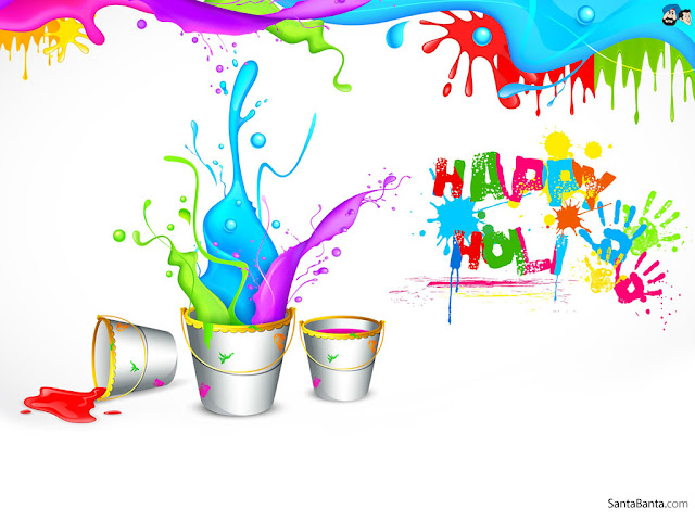 Happy Holi Greeting Message For Facebook
