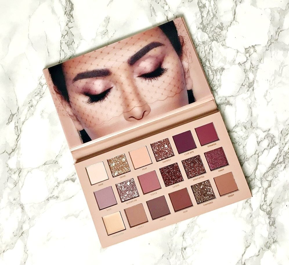 Huda The New Nude Palette Review & swatches
