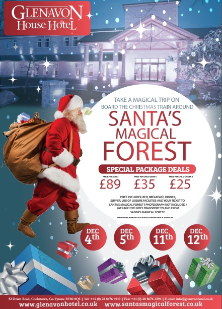magical santa packages glenavon house hotel 15711 | Santa%2BMagical%2BForest%2B2015
