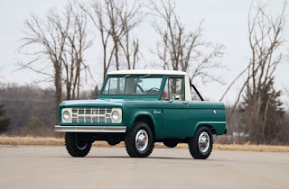 1967 Ford Bronco Half Cab Front Left