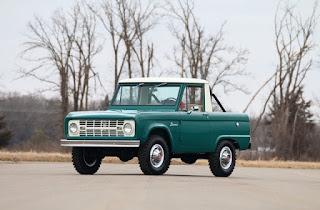 1967 Ford Bronco Half Cab Front Left