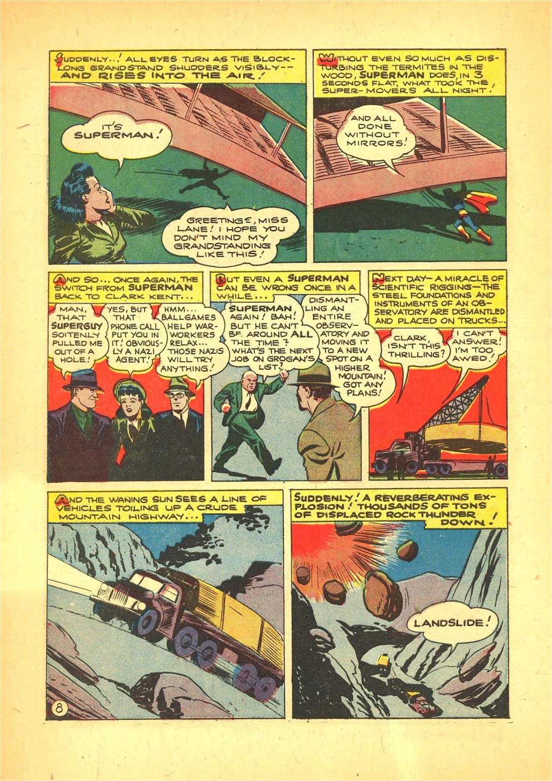 Read online Action Comics (1938) comic -  Issue #72 - 9