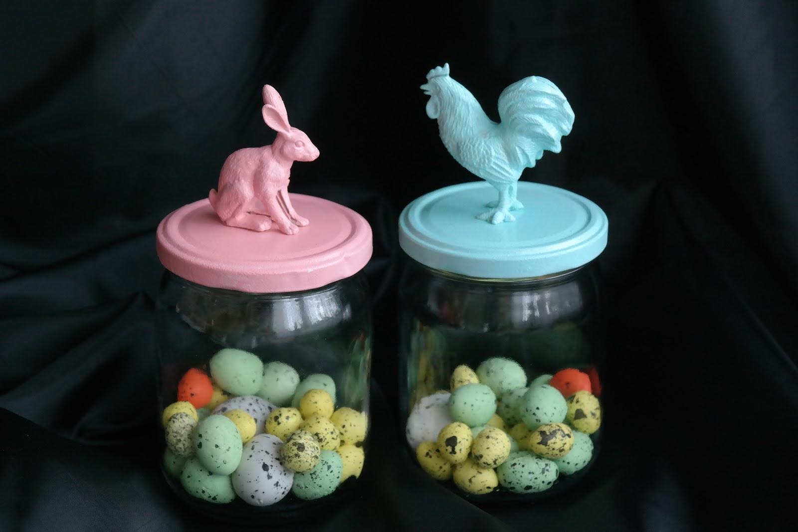 Wielkanocne słoiki - DIY