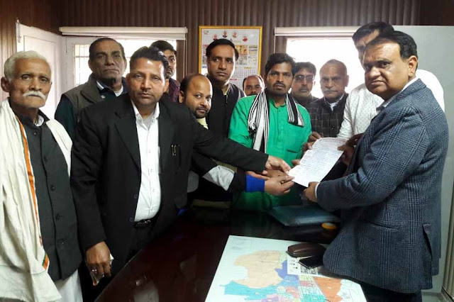 Memorandum to the ADC to hand over the land of community building to private company