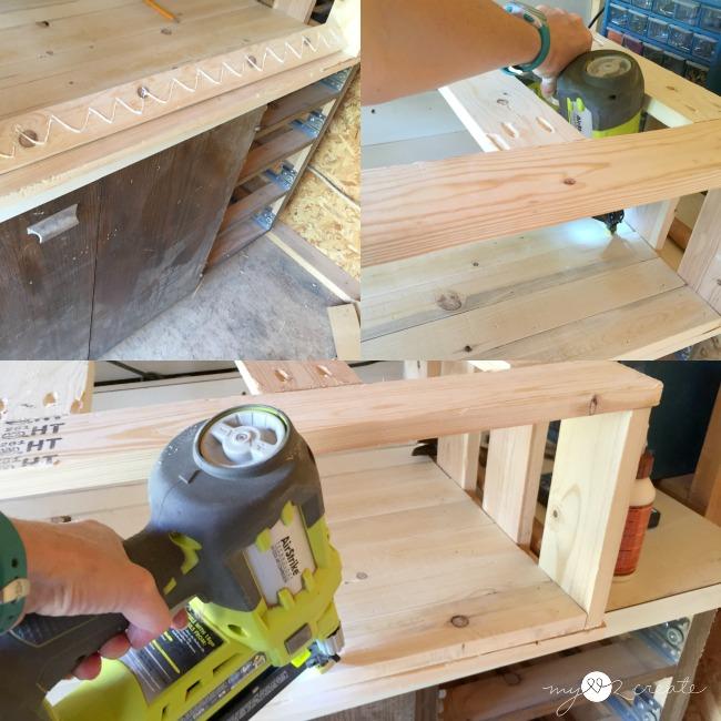 adding shelf boards