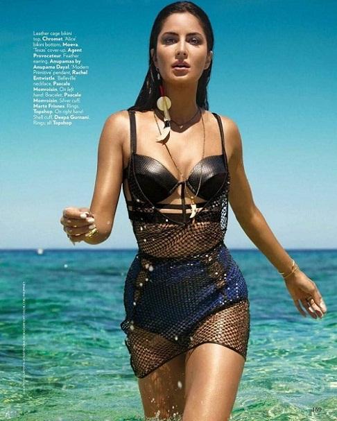Katrina Kaif Vogue India Hot Photoshoot