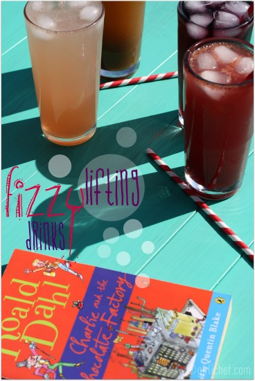 Fizzy Lifting Drinks inspired by Charlie and the Chocolate Factory